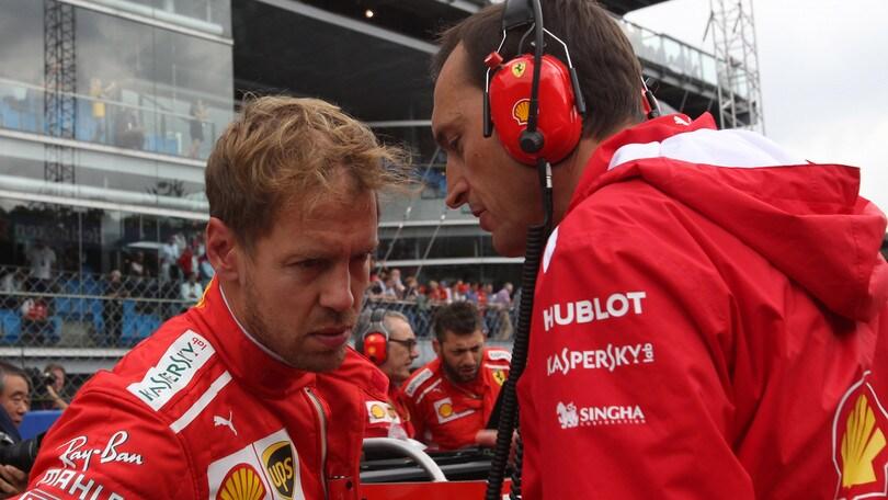F1 Monza, Vettel: «Non avevo spazio e Lewis non me l'ha lasciato»