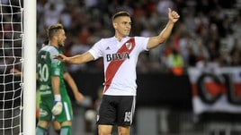 Santos Borré, il River Plate cerca un altro Falcao