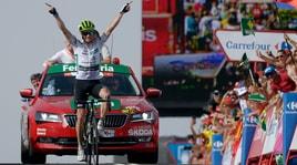 Vuelta: nona tappa a King. Yates nuovo leader della corsa