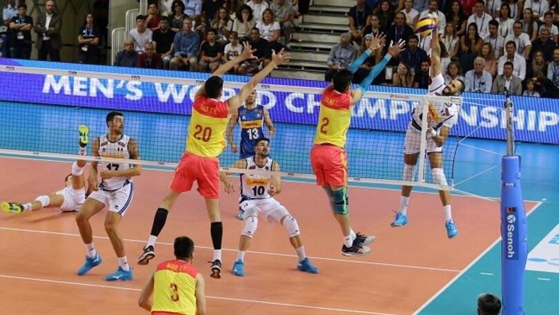 Volley: bene l'Italia nella prima amichevole con la Cina
