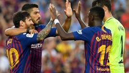 Ottovolante Barcellona: è 8-2 al Huesca