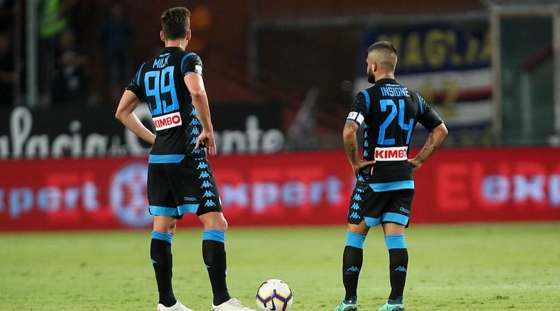 Sampdoria-Napoli 3-0: Defrel e Quagliarella show