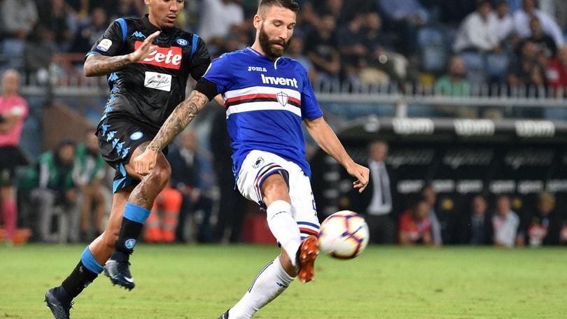 Serie A Sampdoria, Tonelli: «Con il Napoli partita speciale. Possiamo crescere»