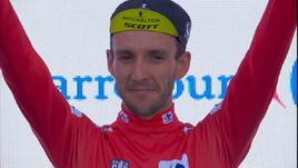 Vuelta, 9ª tappa - Vince King, maglia rossa a Yates