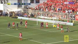 Di Maria in gol direttamente da corner