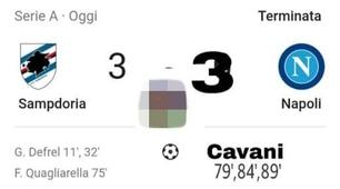 Il Napoli crolla con la Sampdoria: i social non perdonano