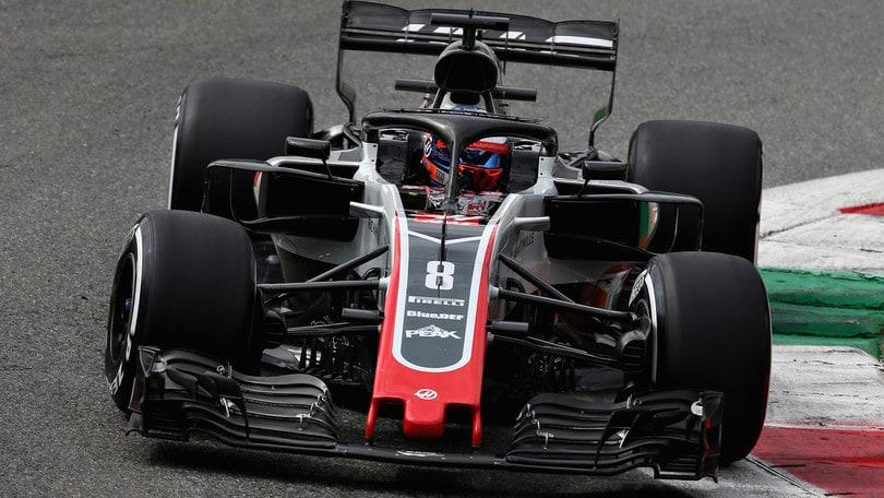 F1 Monza, Haas irregolare, Grosjean squalificato