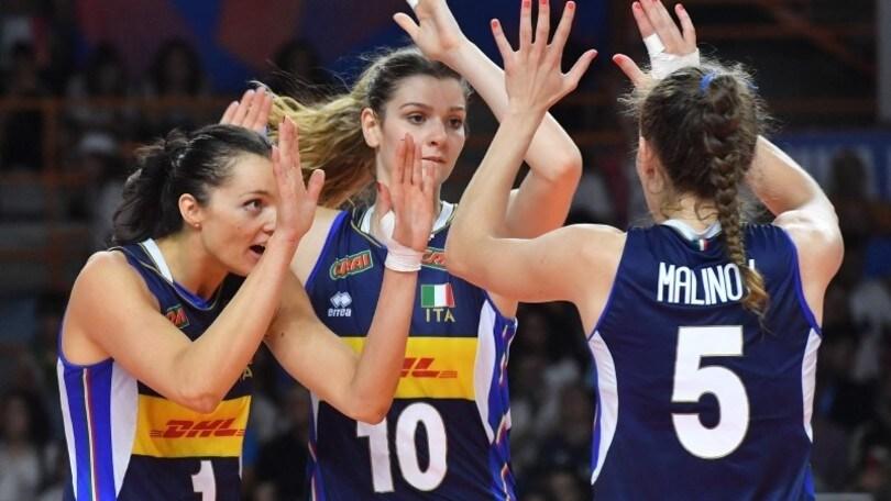 Volley: Torneo di Montreux, l'Italia domani in campo contro la Turchia
