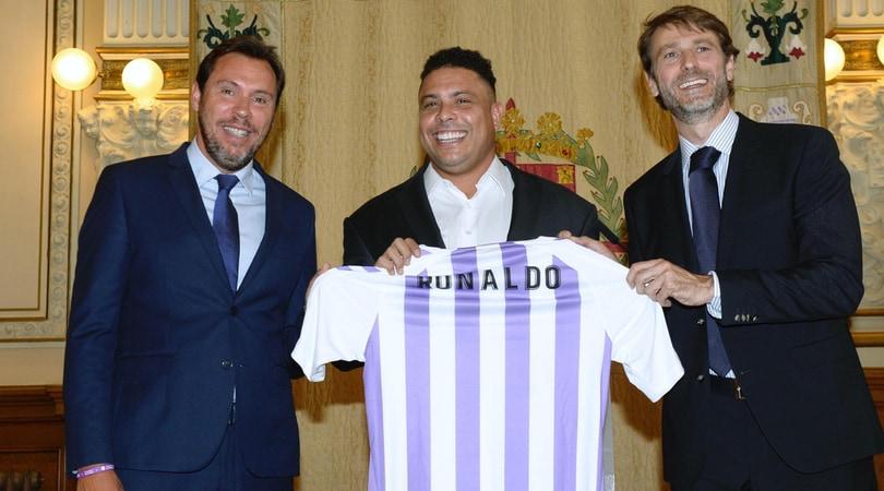 Valladolid, Ronaldo è il nuovo patron: «Uniti sarà dura batterci»
