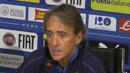 Mancini scherza:
