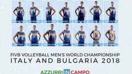Mondiali Volley 2018: i tifosi nominano i 14 azzurri