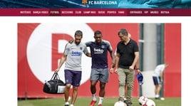 Barcellona, Malcolm ko: distorsione alla caviglia