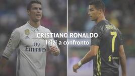 Cristiano Ronaldo, inizi a confronto