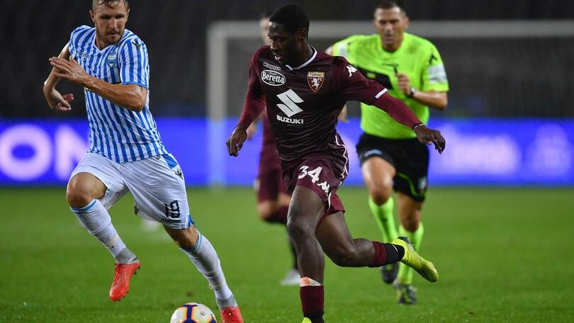 Serie A Torino, Aina: noie muscolari. Niente nazionale