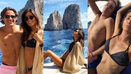 Federica Nargi e Matri, vacanza romantica a Capri