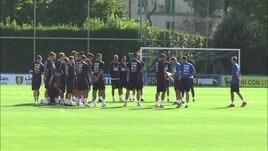 Italia, allenamento a Coverciano