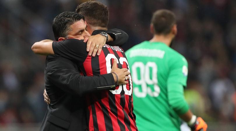 Milan, la lista per l'Europa: fuori Conti e Strinic
