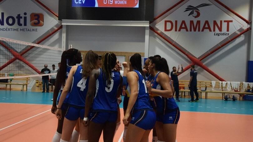 Volley: Europei Under 19, l'Italia batte la Bulgaria, semifinale ad un passo