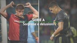Serie A, sorprese e delusioni