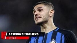 Inter, sospiro di sollievo per Icardi e Lautaro