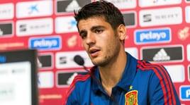 Spagna, Morata: «L'esclusione dal Mondiale? Il peggior momento della mia carriera»