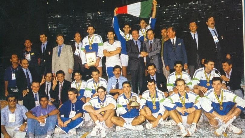 Volley: i Collari d'oro ai Campioni del Mondo del '90 e '94