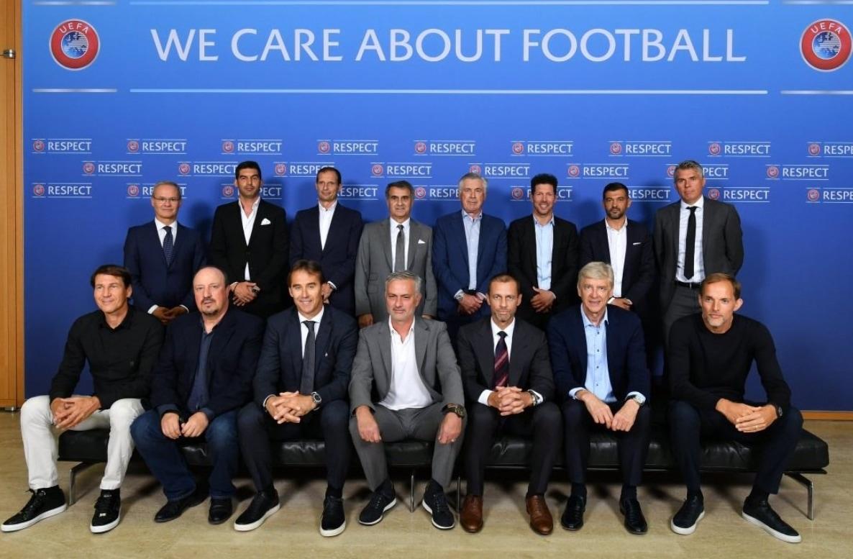 Da Ancelotti ad Allegri, da Mourinho a Garcia: l'incontro della Uefa con i migliori allenatori