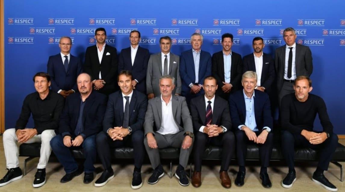 """Si è tenuta in giornata a Nyon la """"Uefa Elite Club Coaches Forum"""", un momento di incontro tra gli allenatori più brillanti nel mondo del calcio"""