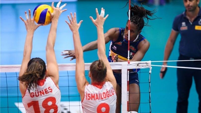 Volley: Torneo di Montreux, l'Italia si arrende alla Turchia