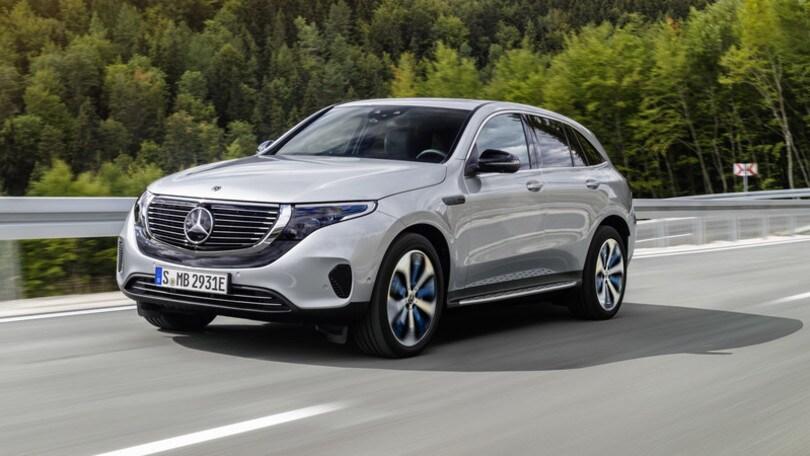 Mercedes EQC: l'elettrico tedesco è pronto alla sfida