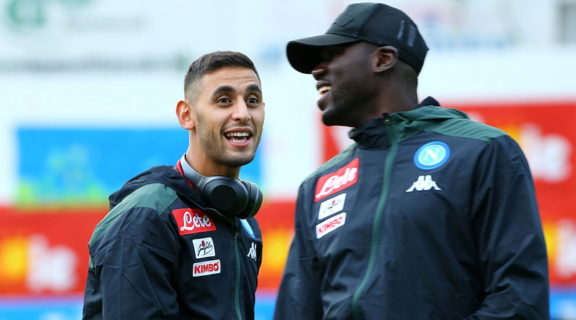 Serie A Napoli, Ghoulam torna ad allenarsi in gruppo