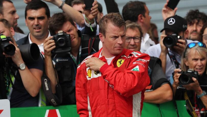 F1 Ferrari, Raikkonen presenta Singapore