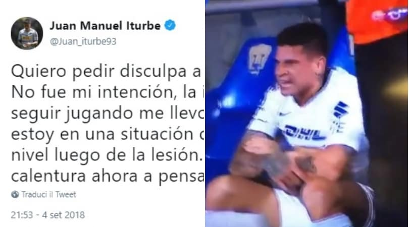 Messico, furia Iturbe: niente mano ai compagni e insulti al tecnico