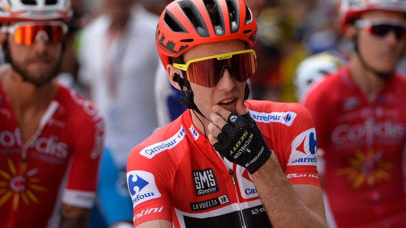 Vuelta, 11ª tappa: vince De Marchi. Yates resta leader