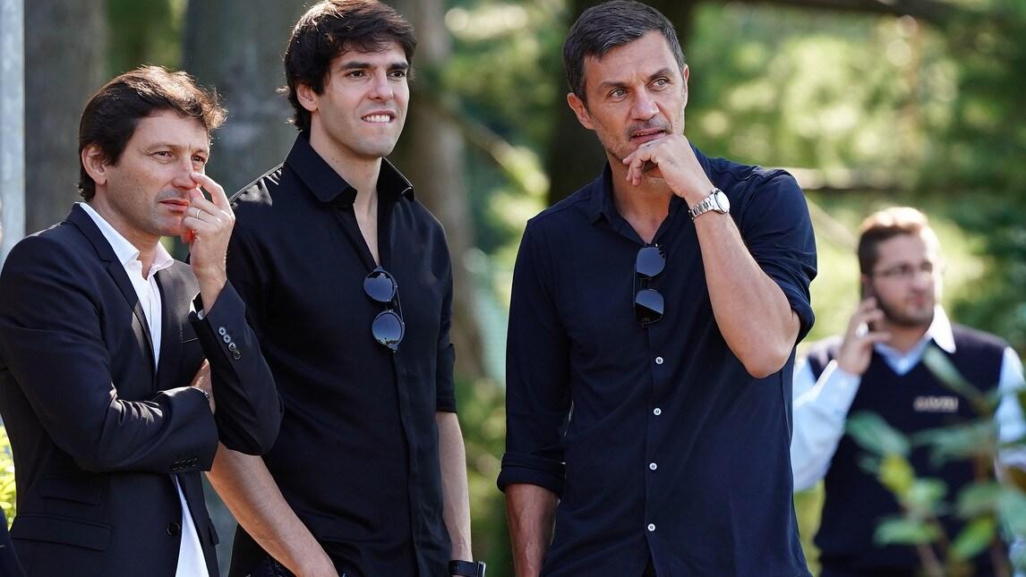 Le foto dei dirigenti rossoneri a Milanello per la seduta della squadra del Milan di Gattuso senza i nazionali