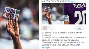 Fiorentina, i social con Biraghi:«La fascia di Astori non si tocca»