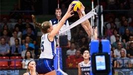Volley: Torneo di Montreux, finalmente una bella Italia, battuta la Cina