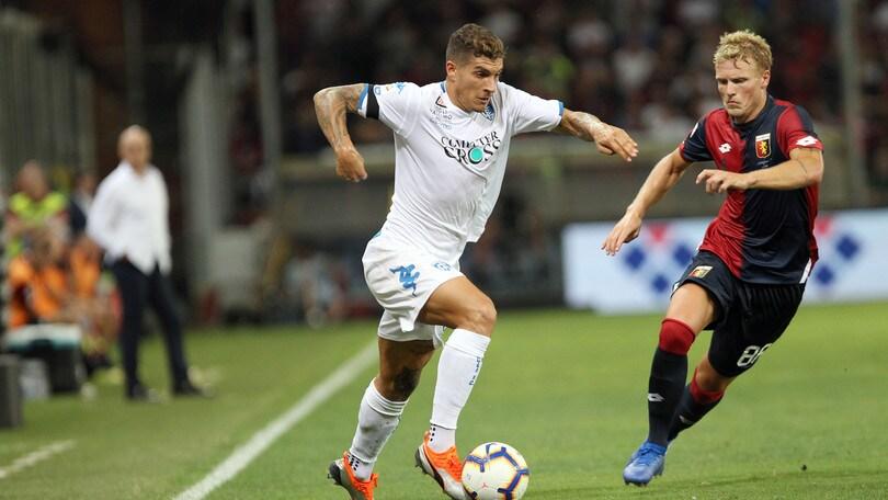 Serie A Empoli, sorpresa Di Lorenzo
