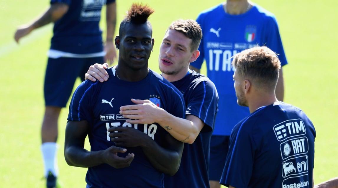 Proseguono a Coverciano gli allenamenti dell'Italia di Mancini in vista degli impegni con Polonia e Portogallo