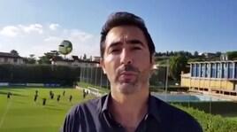 Italia, scherzo a Coverciano: pallonata al giornalista