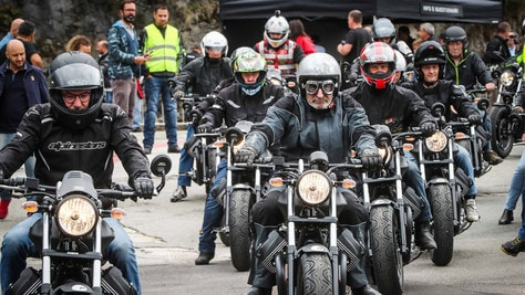 Due anteprime mondiali al Moto Guzzi Open House