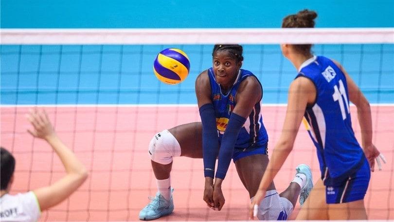Volley: Torneo di Montreux, l'Italia travolge la Svizzera