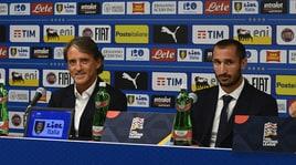 Italia-Polonia, la vigilia di Mancini: «Emozionato». Chiellini:«Io solo uno dei capitani»