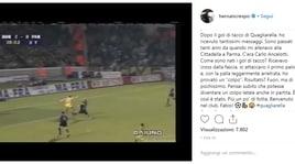 Gol di tacco, Crespo celebra Quagliarella: «Benvenuto nel club»