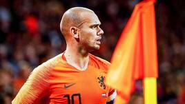 Olanda-Peru, l'addio di Sneijder alla nazionale