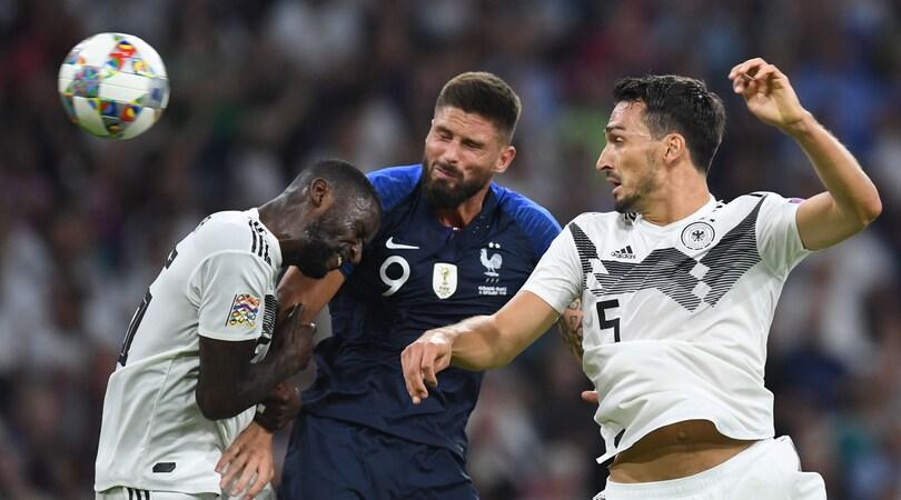 Nations League, Germania-Francia 0-0: equilibrio e niente gol a Monaco di Baviera
