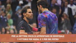 US Open, Del Potro sfida Nadal (ancora) in semifinale