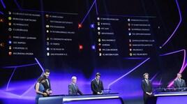 Champions League, il calendario delle italiane: diretta tv su Rai e Sky