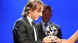 Modric chiude il caso: «Ronaldo mi ha fatto i complimenti per il premio Uefa»