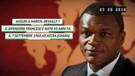 On This Day - Marcel Desailly compie 50 anni